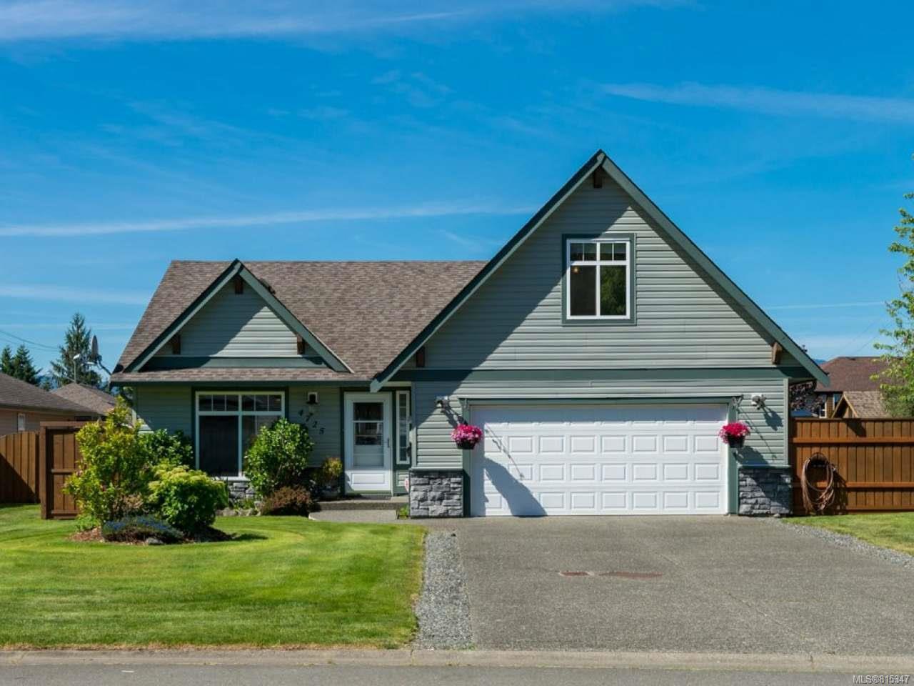 Main Photo: 4725 Cruickshank Pl in COURTENAY: CV Courtenay East House for sale (Comox Valley)  : MLS®# 815347
