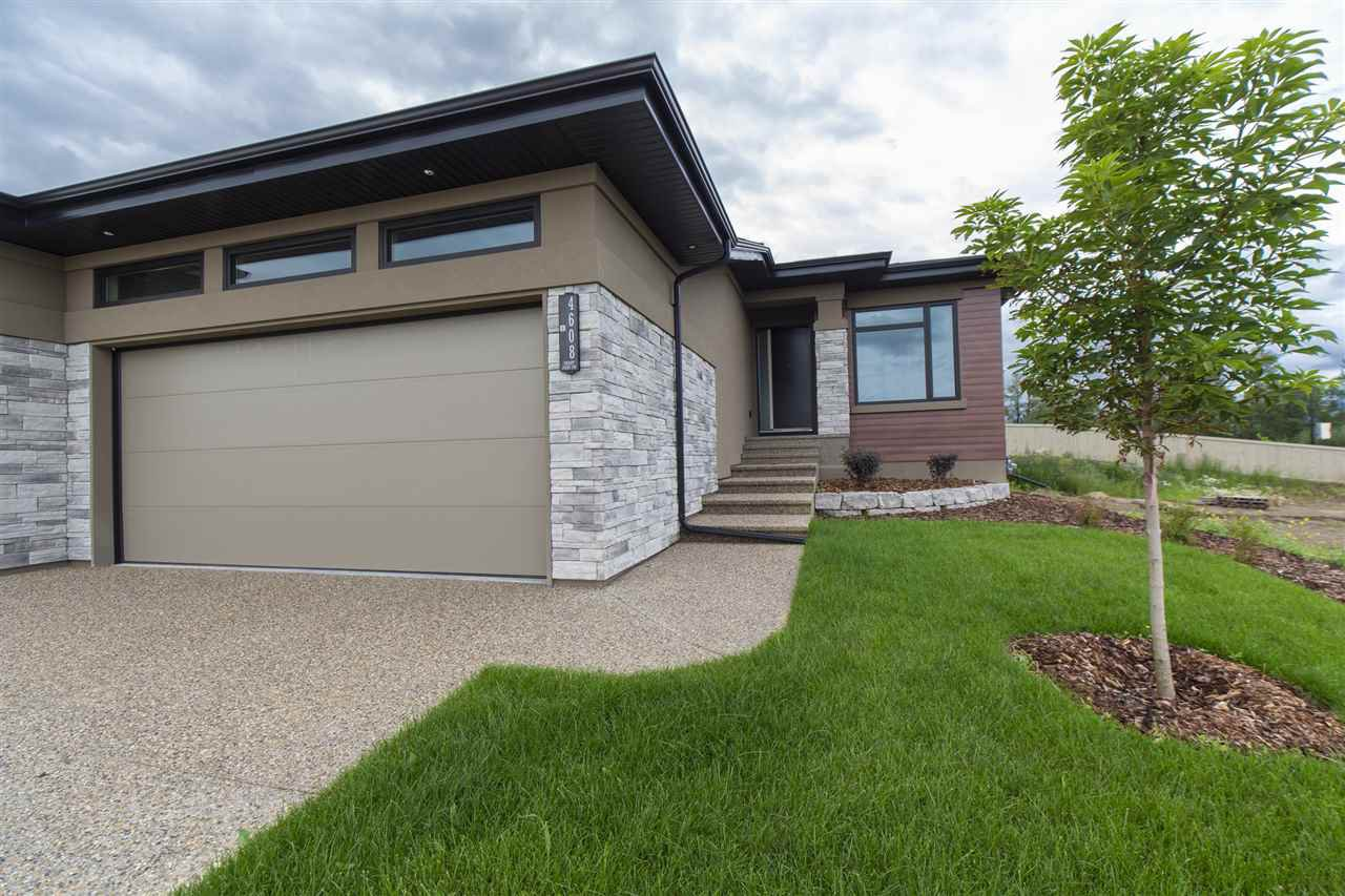 Main Photo: 4608 Knight Point in Edmonton: Zone 56 House Half Duplex for sale : MLS®# E4167546