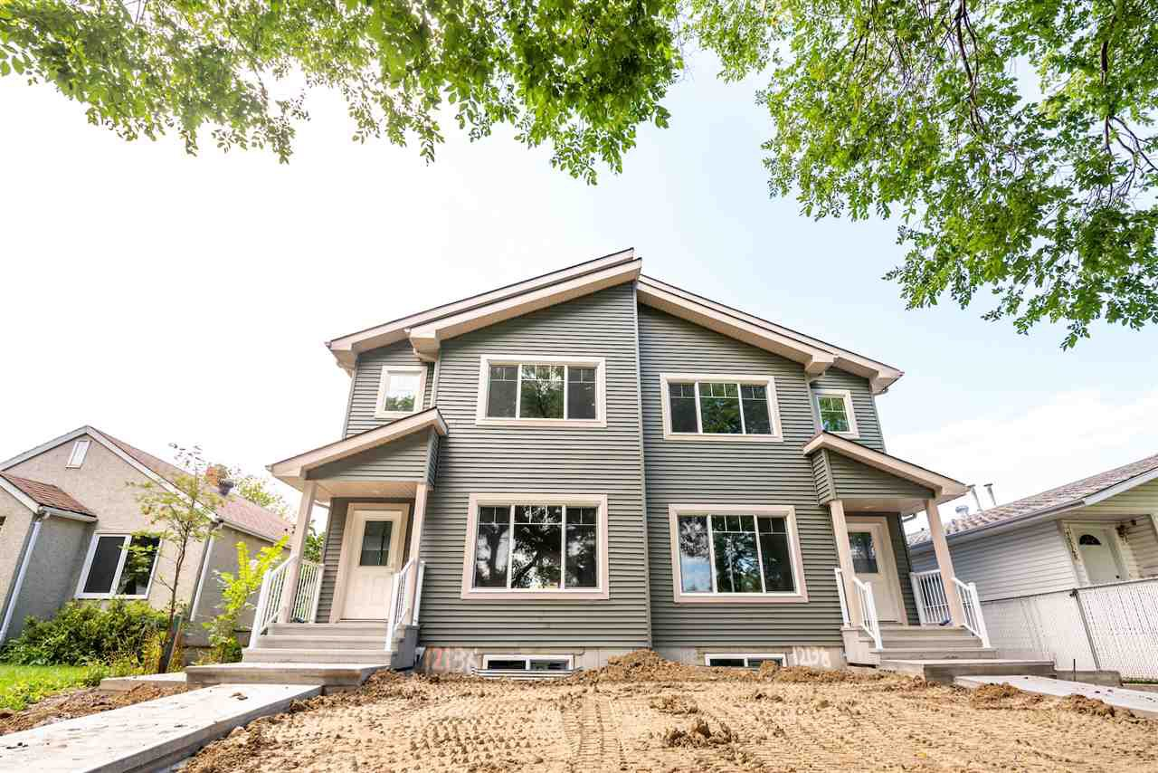 Main Photo: 12138 81 Street in Edmonton: Zone 05 House Half Duplex for sale : MLS®# E4171003