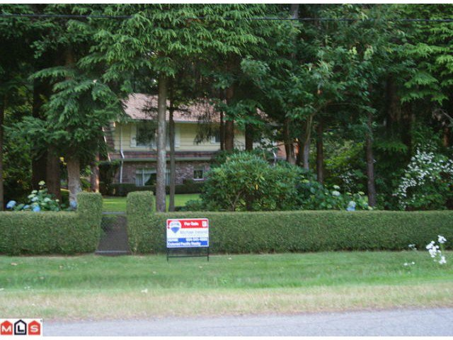 Main Photo: 3143  135A ST in Surrey: Elgin Chantrell House for sale (South Surrey White Rock)  : MLS®# F1018887