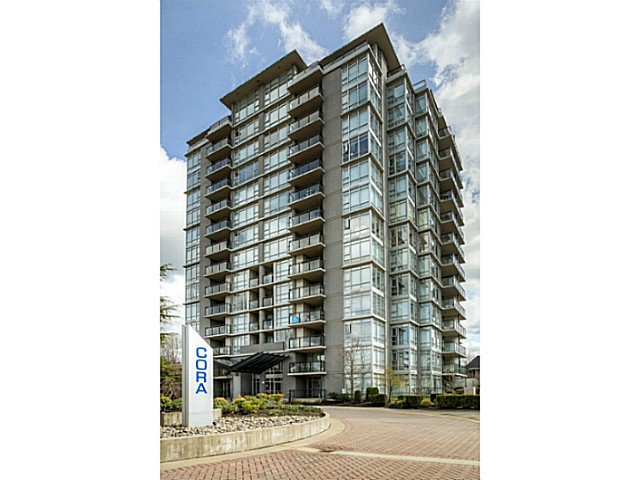 "Main Photo: 706 575 DELESTRE Avenue in Coquitlam: Coquitlam West Condo for sale in ""CORA"" : MLS®# V1056314"