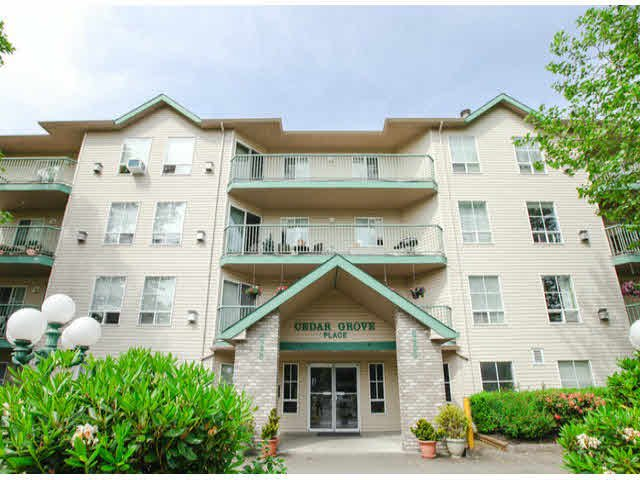 "Main Photo: 303 2435 CENTER Street in Abbotsford: Abbotsford West Condo for sale in ""Cedar Grove Place"" : MLS®# F1412491"