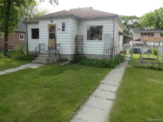 Main Photo: 763 Garwood Avenue in WINNIPEG: Manitoba Other Residential for sale : MLS®# 1414291