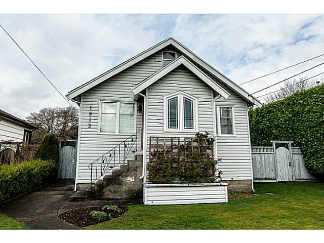 "Main Photo: 1813 EIGHTH Avenue in New Westminster: West End NW House for sale in ""WEST END"" : MLS®# V1110479"