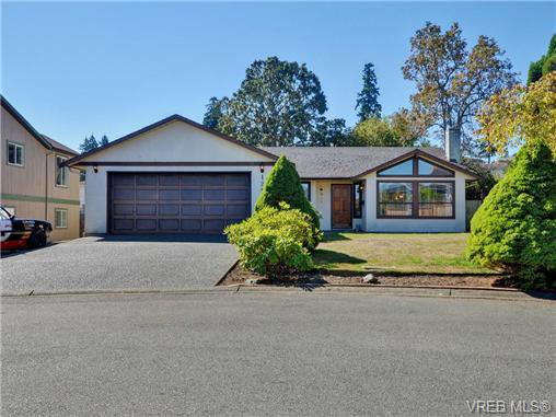 Main Photo: 1287 Lidgate Court in VICTORIA: SW Strawberry Vale Single Family Detached for sale (Saanich West)  : MLS®# 369300