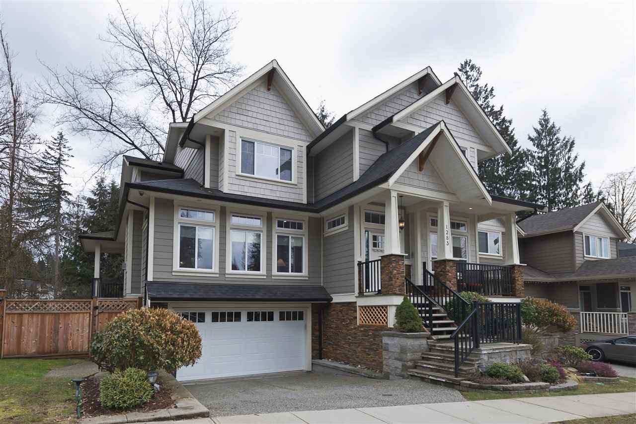 """Main Photo: 1283 HOLLYBROOK Street in Coquitlam: Burke Mountain House for sale in """"BURKE MOUNTAIN"""" : MLS®# R2140494"""