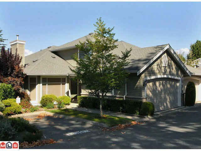 Main Photo: 34 2672 151ST STREET in : Sunnyside Park Surrey Townhouse for sale : MLS®# F1222584
