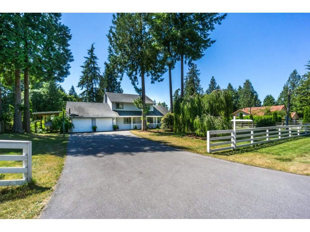 "Main Photo: 2167 198TH Street in Langley: Brookswood Langley House for sale in ""BROOKSWOOD/FERNRIDGE"" : MLS®# R2185405"