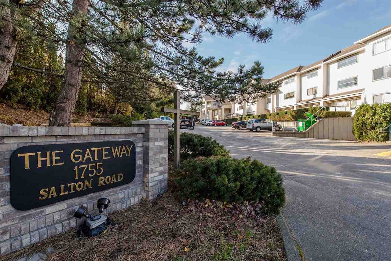 "Main Photo: 214 1755 SALTON Road in Abbotsford: Central Abbotsford Condo for sale in ""The Gateway"" : MLS®# R2223724"