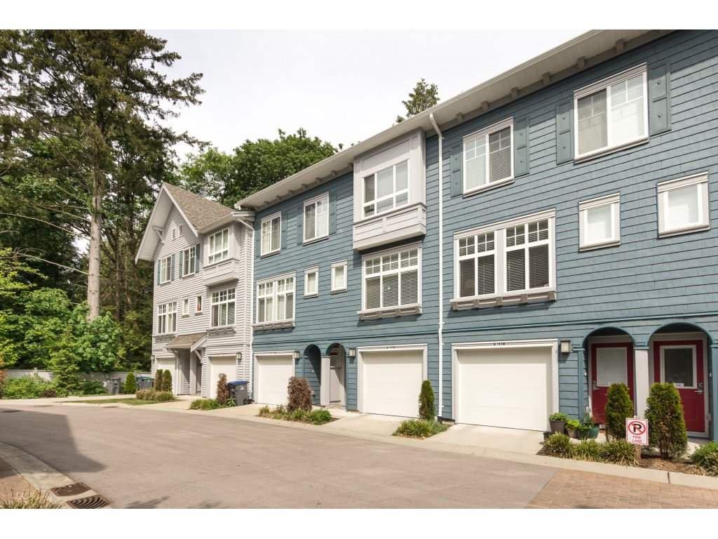 "Main Photo: 42 5858 142 Street in Surrey: Sullivan Station Townhouse for sale in ""Brooklyn Village"" : MLS®# R2272952"