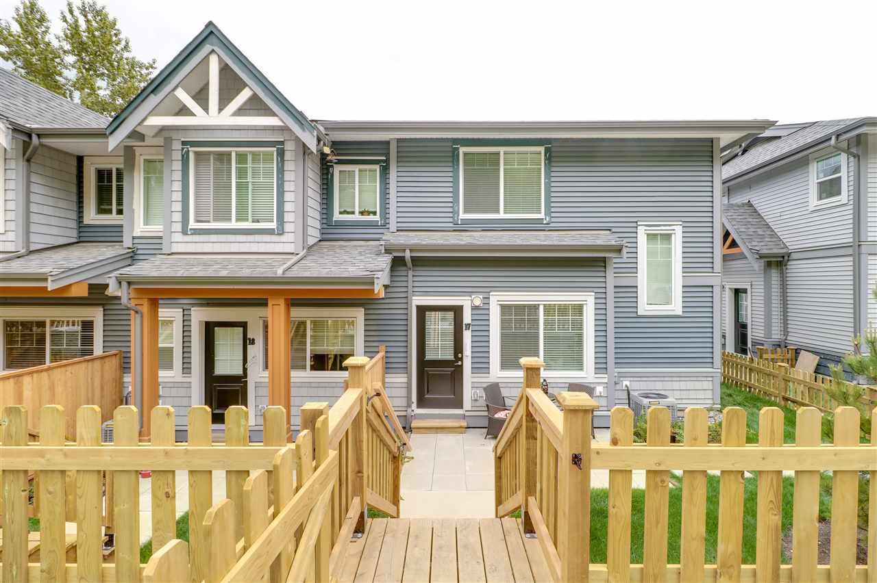 Fully fenced front yard, with access from the bottom or top!  Parking right out front your door on in your double garage.