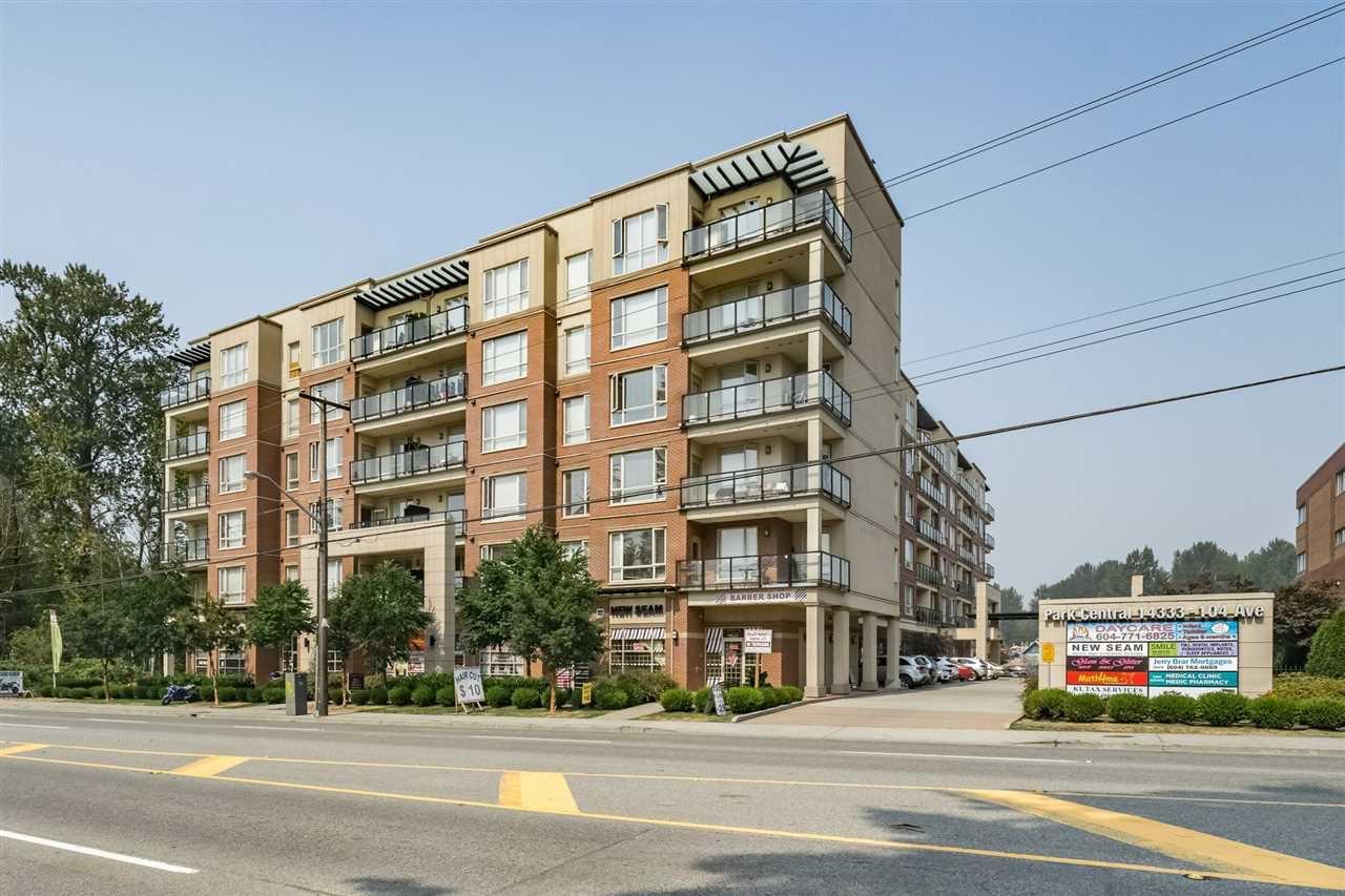 "Main Photo: 311 14333 104TH Avenue in Surrey: Whalley Condo for sale in ""Park Central"" (North Surrey)  : MLS®# R2298622"
