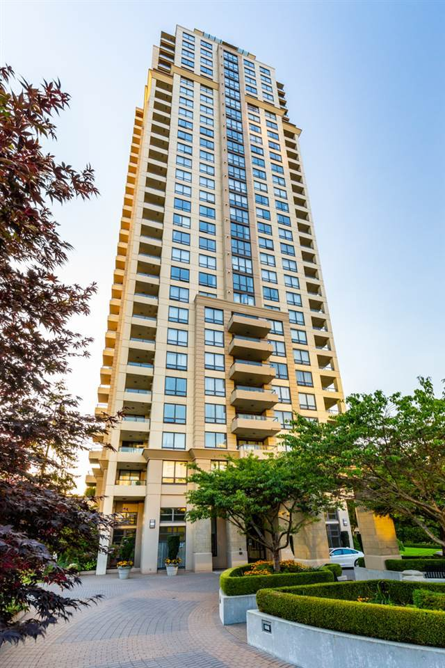 "Main Photo: 1402 4333 CENTRAL Boulevard in Burnaby: Metrotown Condo for sale in ""The Presidia by BOSA"" (Burnaby South)  : MLS®# R2354805"