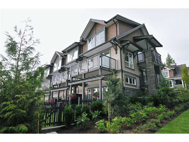 "Main Photo: 117 1460 SOUTHVIEW Street in Coquitlam: Burke Mountain Townhouse for sale in ""CEDAR CREEK"" : MLS®# V901168"