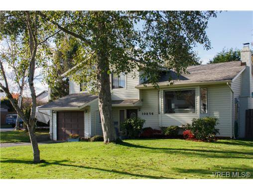 Main Photo: 10276 Rathdown Pl in SIDNEY: Si Sidney North-East House for sale (Sidney)  : MLS®# 656113