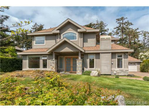 Main Photo: 4524 Gordon Point Dr in VICTORIA: SE Gordon Head House for sale (Saanich East)  : MLS®# 700851