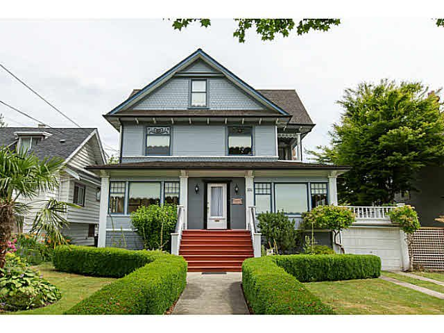 "Main Photo: 331 FIFTH Street in NEW WEST: Queens Park House for sale in ""QUEEN'S PARK"" (New Westminster)  : MLS®# V1130395"
