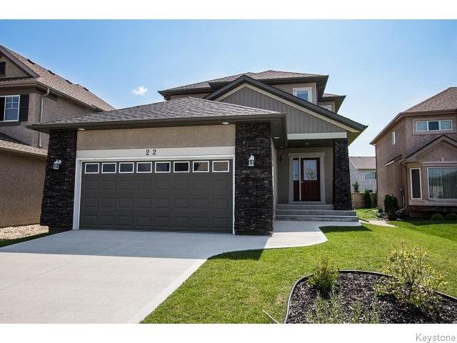 Main Photo: 22 Tychonick Bay in WINNIPEG: Transcona Residential for sale (North East Winnipeg)  : MLS®# 1522340