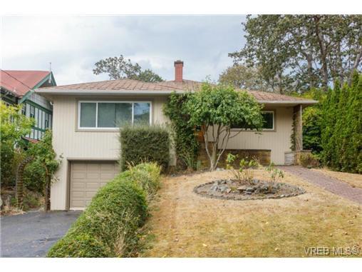 Main Photo: 1083 Joan Cres in VICTORIA: Vi Rockland House for sale (Victoria)  : MLS®# 710463