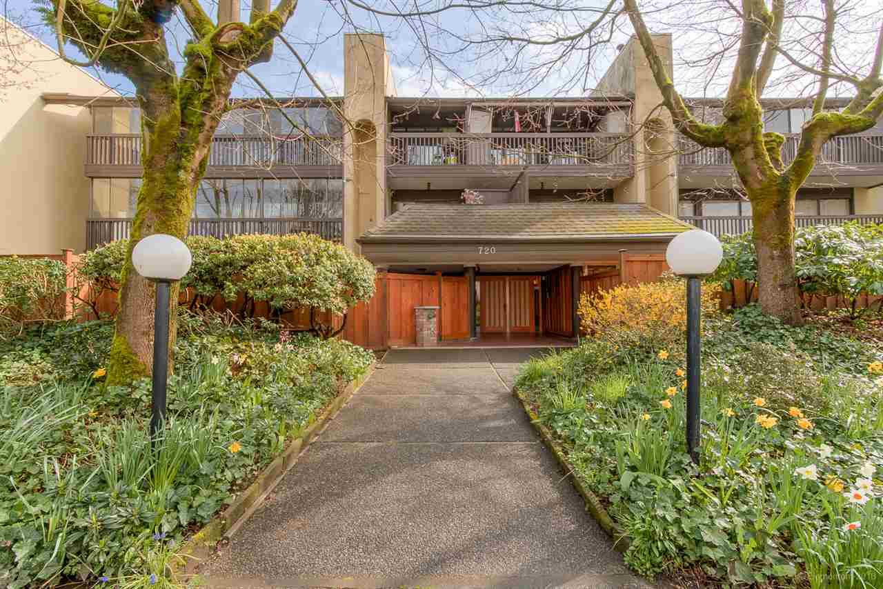 "Main Photo: 104 720 EIGHTH Avenue in New Westminster: Uptown NW Condo for sale in ""SAN SEBASTIAN"" : MLS®# R2048672"