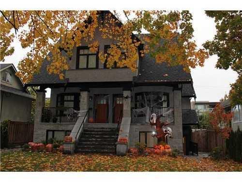 Main Photo: 2436 8TH Ave W: Kitsilano Home for sale ()  : MLS®# V935234