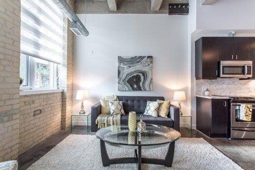 Photo 6: Photos: 124 201 Carlaw Avenue in Toronto: South Riverdale Condo for sale (Toronto E01)  : MLS®# E3599061