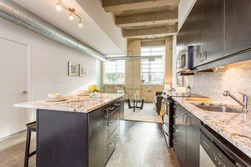 Photo 15: Photos: 124 201 Carlaw Avenue in Toronto: South Riverdale Condo for sale (Toronto E01)  : MLS®# E3599061