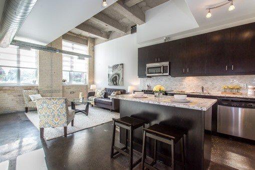 Photo 13: Photos: 124 201 Carlaw Avenue in Toronto: South Riverdale Condo for sale (Toronto E01)  : MLS®# E3599061