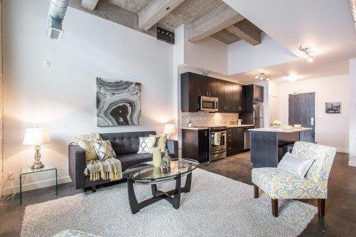 Photo 3: Photos: 124 201 Carlaw Avenue in Toronto: South Riverdale Condo for sale (Toronto E01)  : MLS®# E3599061