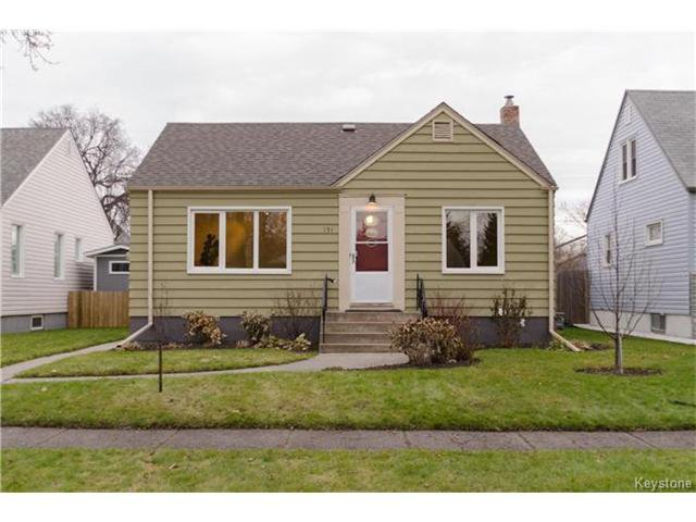 Main Photo: 151 Tait Avenue in Winnipeg: Scotia Heights Residential for sale (4D)  : MLS®# 1629423