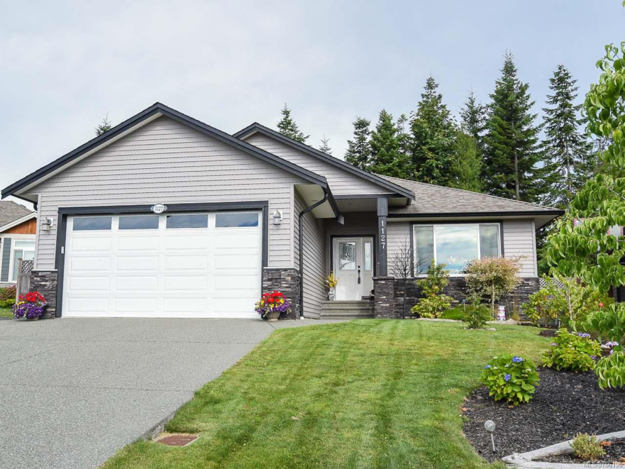 Main Photo: 1127 Cordero Cres in CAMPBELL RIVER: CR Willow Point House for sale (Campbell River)  : MLS®# 766196