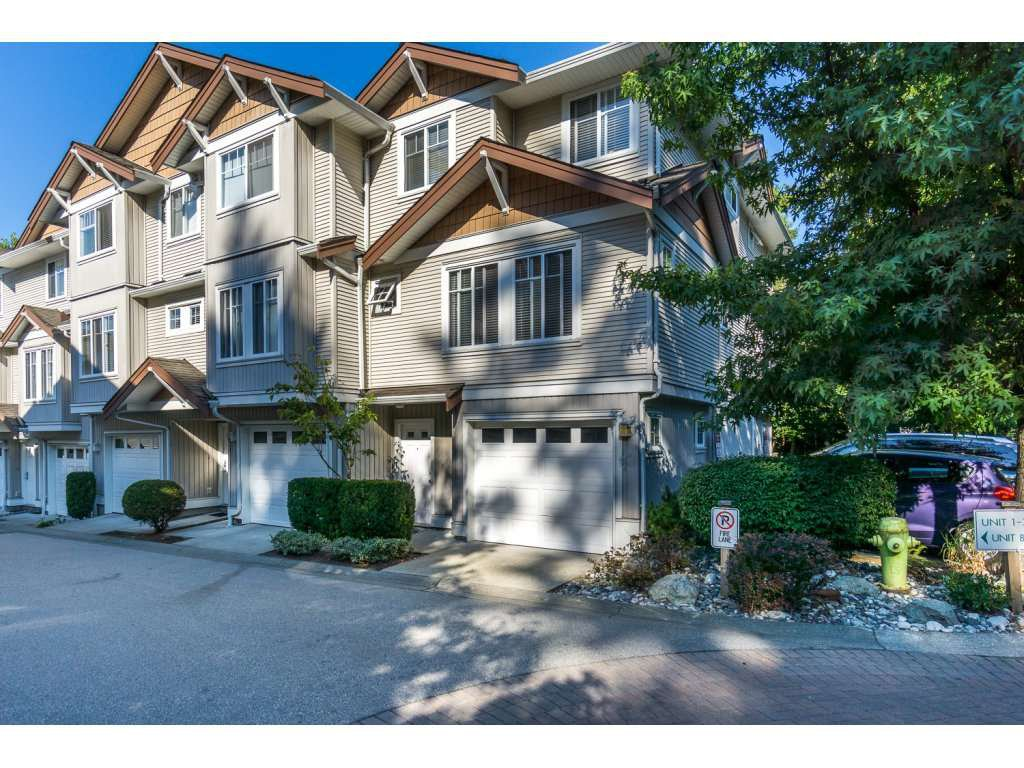 "Main Photo: 8 12711 64TH Avenue in Surrey: West Newton Townhouse for sale in ""Palette on the Park"" : MLS®# R2200679"