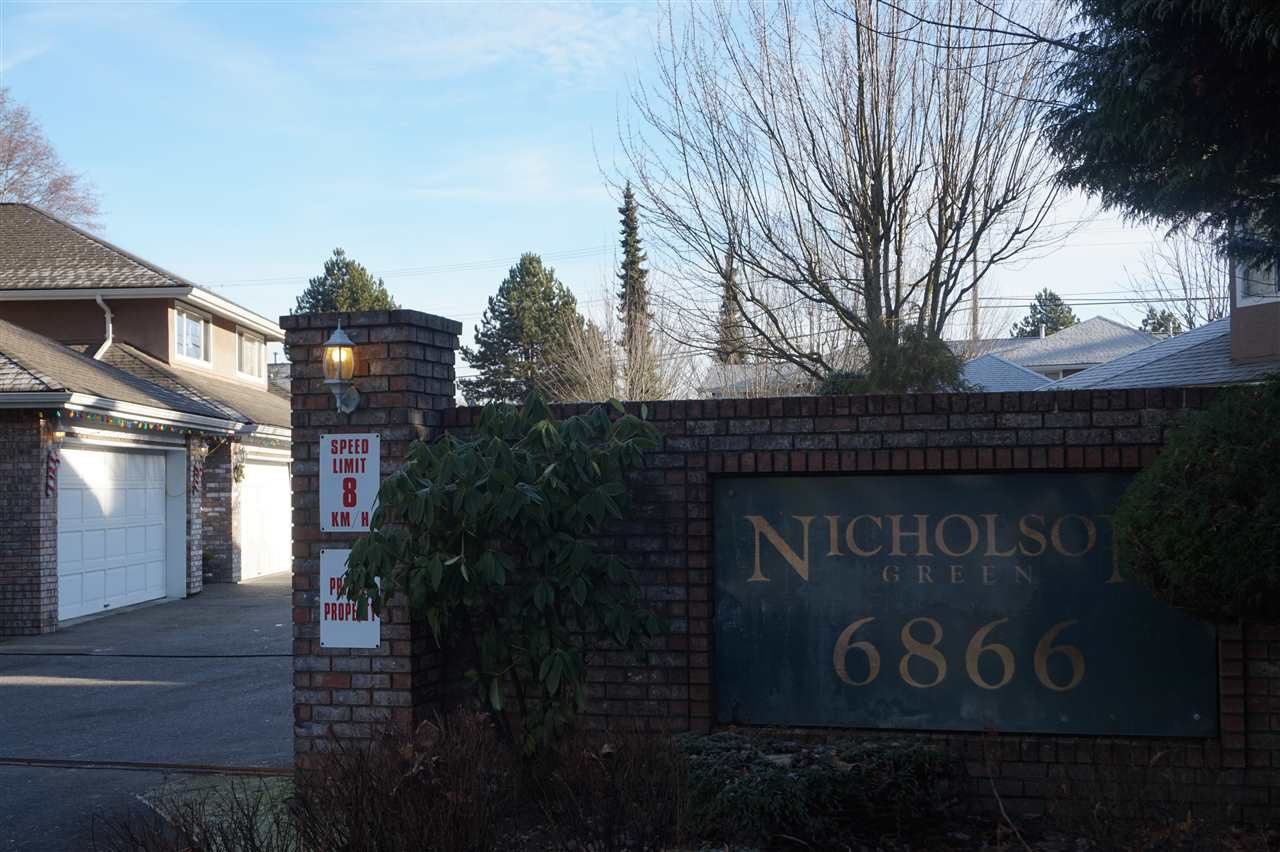 Main Photo: 204 6866 NICHOLSON ROAD in Delta: Sunshine Hills Woods Condo for sale (N. Delta)  : MLS®# R2229843