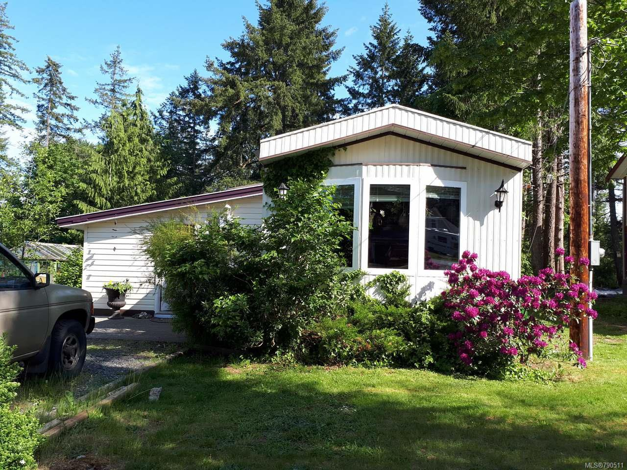 Main Photo: 2550 COPPERFIELD ROAD in COURTENAY: CV Courtenay City Manufactured Home for sale (Comox Valley)  : MLS®# 790511