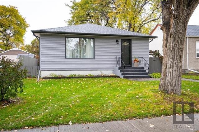 Main Photo: 71 Inman Avenue in Winnipeg: St Vital Residential for sale (2D)  : MLS®# 1827153