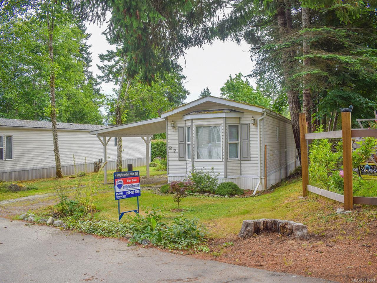 Photo 12: Photos: 27 6225 Lugrin Rd in PORT ALBERNI: PA Alberni Valley Manufactured Home for sale (Port Alberni)  : MLS®# 818889