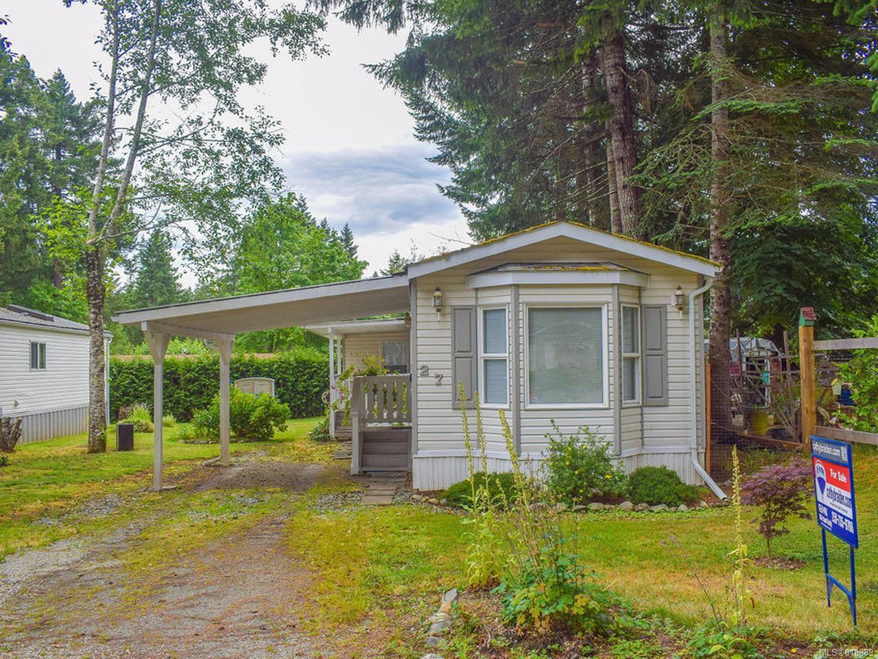 Photo 13: Photos: 27 6225 Lugrin Rd in PORT ALBERNI: PA Alberni Valley Manufactured Home for sale (Port Alberni)  : MLS®# 818889