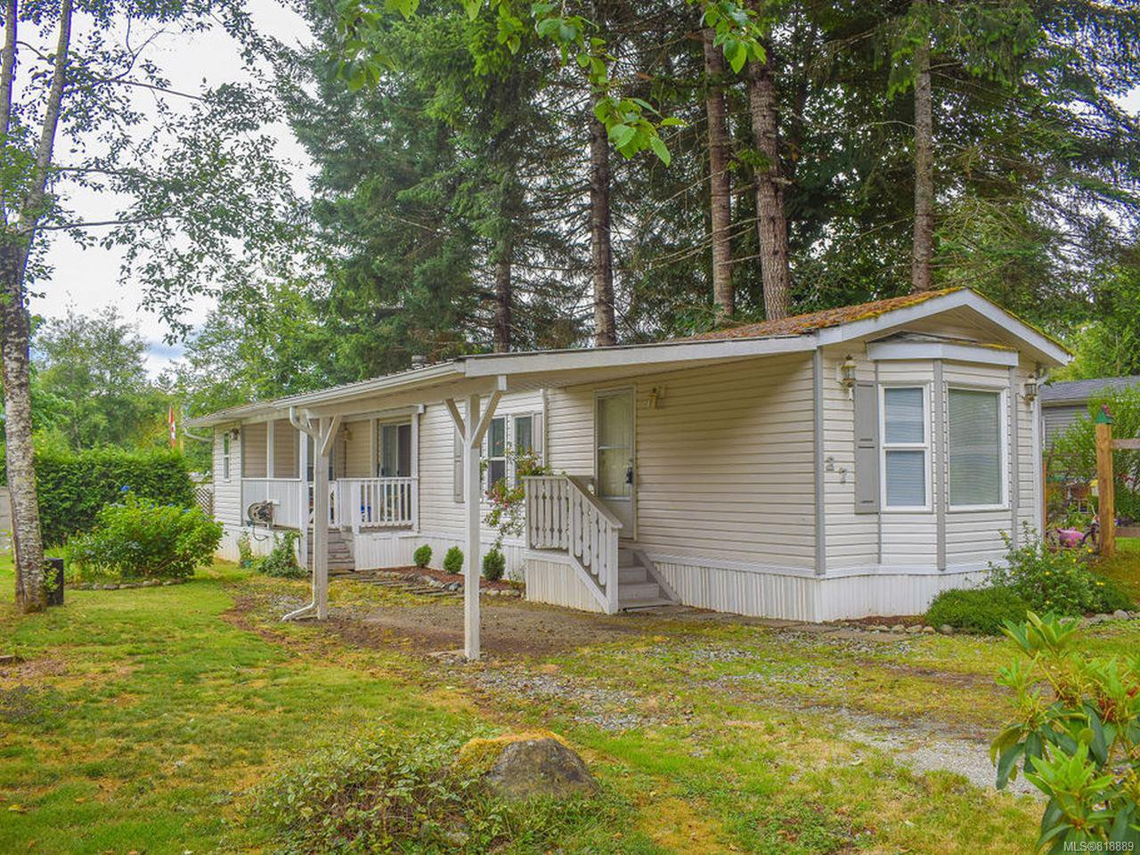 Main Photo: 27 6225 Lugrin Rd in PORT ALBERNI: PA Alberni Valley Manufactured Home for sale (Port Alberni)  : MLS®# 818889
