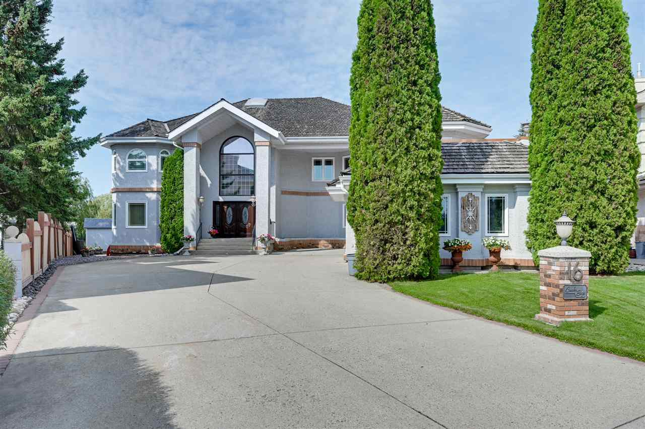 Main Photo: 16 RUNNING CREEK Point in Edmonton: Zone 16 House for sale : MLS®# E4169178