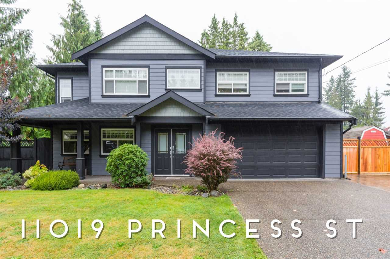 Main Photo: 11019 PRINCESS Street in Maple Ridge: Southwest Maple Ridge House for sale : MLS®# R2410766