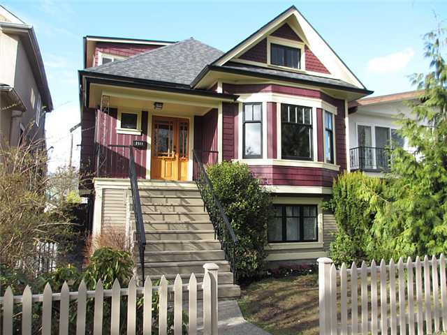 Main Photo: 2511 PANDORA Street in Vancouver: Hastings East House for sale (Vancouver East)  : MLS®# V940912