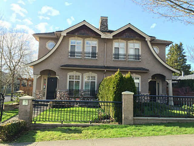 Main Photo: 8291 LAUREL Street in Vancouver: Marpole House 1/2 Duplex for sale (Vancouver West)  : MLS®# V1106866