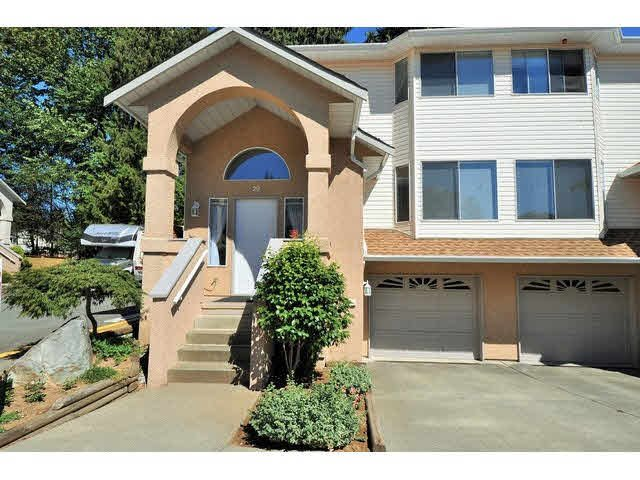 "Main Photo: 20 32339 7 Avenue in Mission: Mission BC Townhouse for sale in ""Cedar Brook Estates"" : MLS®# F1448650"