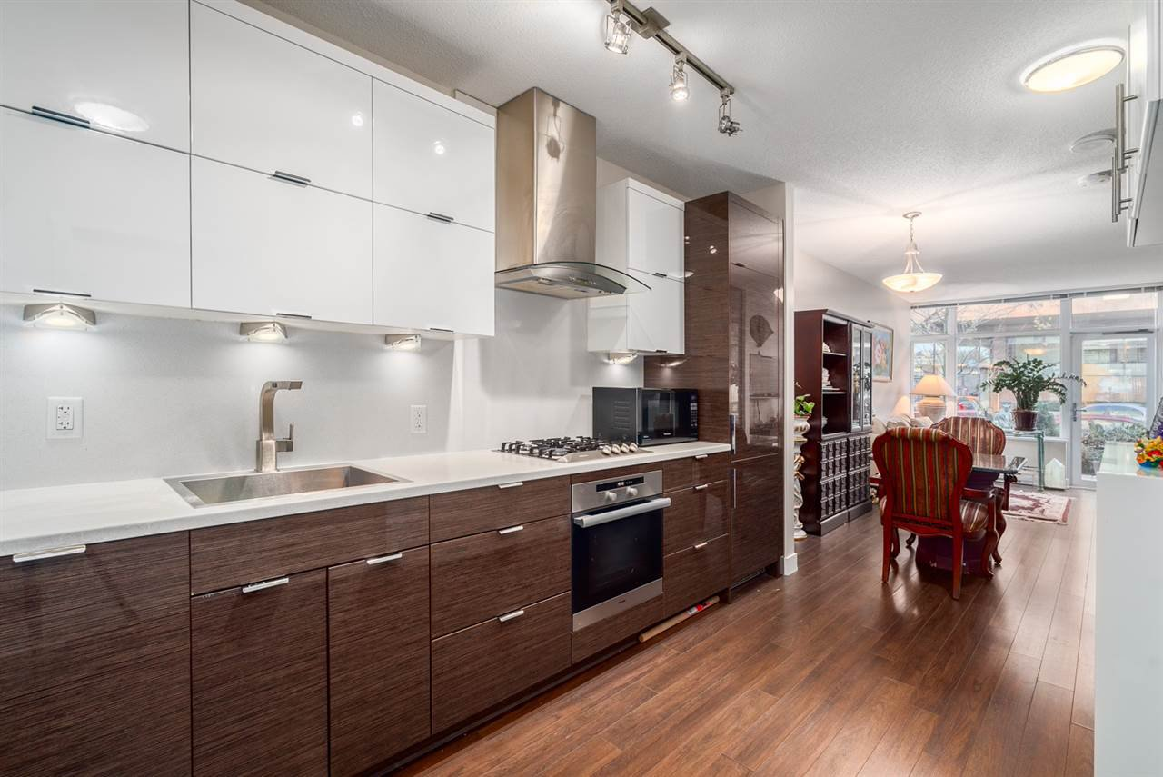 """Main Photo: 121 1777 W 7TH Avenue in Vancouver: Fairview VW Condo for sale in """"KITS360"""" (Vancouver West)  : MLS®# R2063972"""