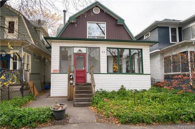 Main Photo: 88 Evanson Street in Winnipeg: Wolseley Residential for sale (5B)  : MLS®# 1727814