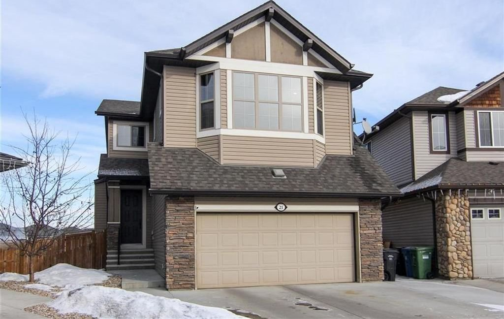 Main Photo: 21 CRANBERRY Cove SE in Calgary: Cranston House for sale : MLS®# C4164201