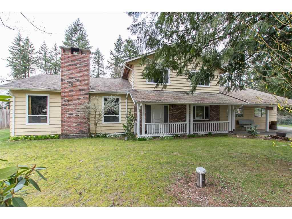 "Main Photo: 23731 54A Avenue in Langley: Salmon River House for sale in ""Tall Timbers"" : MLS®# R2249568"
