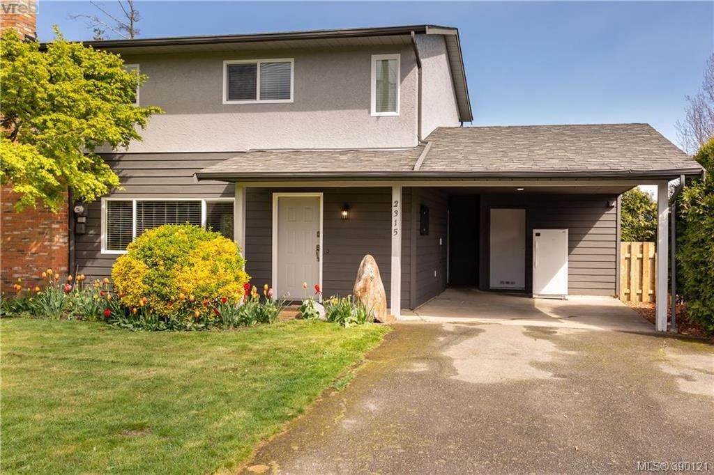 Main Photo: 2315 Muriel Pl in SIDNEY: Si Sidney South-East Half Duplex for sale (Sidney)  : MLS®# 784113