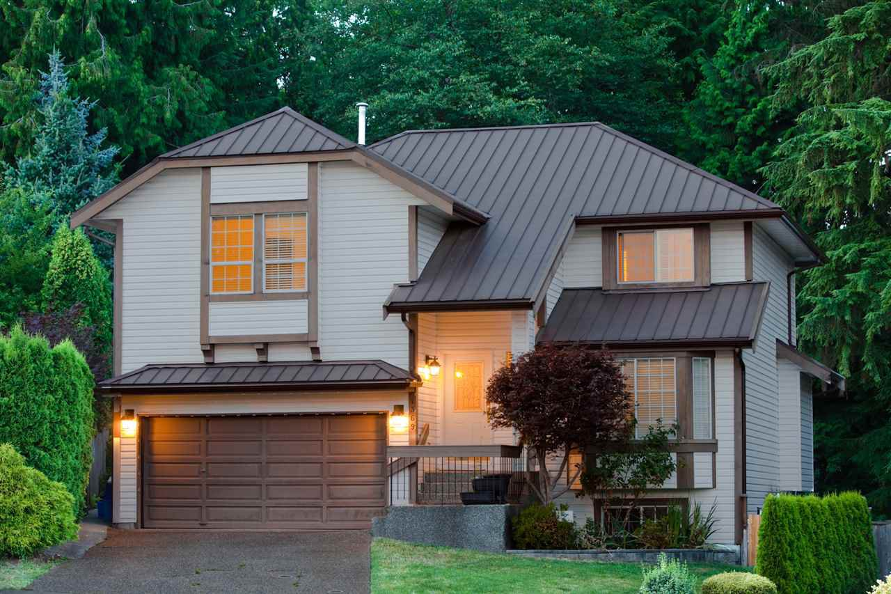 """Main Photo: 1369 CORBIN Place in Coquitlam: Canyon Springs House for sale in """"CANYON SPRINGS"""" : MLS®# R2292318"""