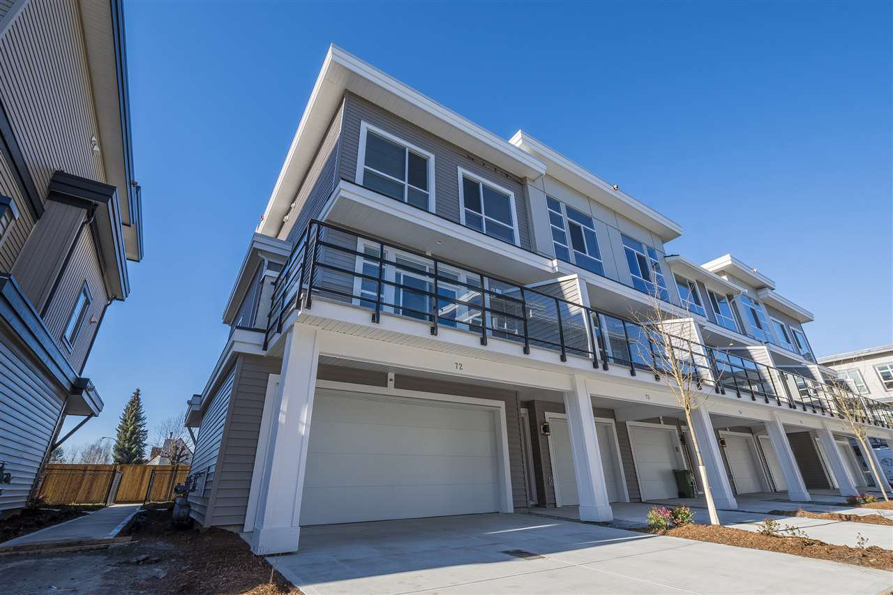"""Main Photo: 72 8413 MIDTOWN Way in Chilliwack: Chilliwack W Young-Well Townhouse for sale in """"Midtown"""" : MLS®# R2339400"""
